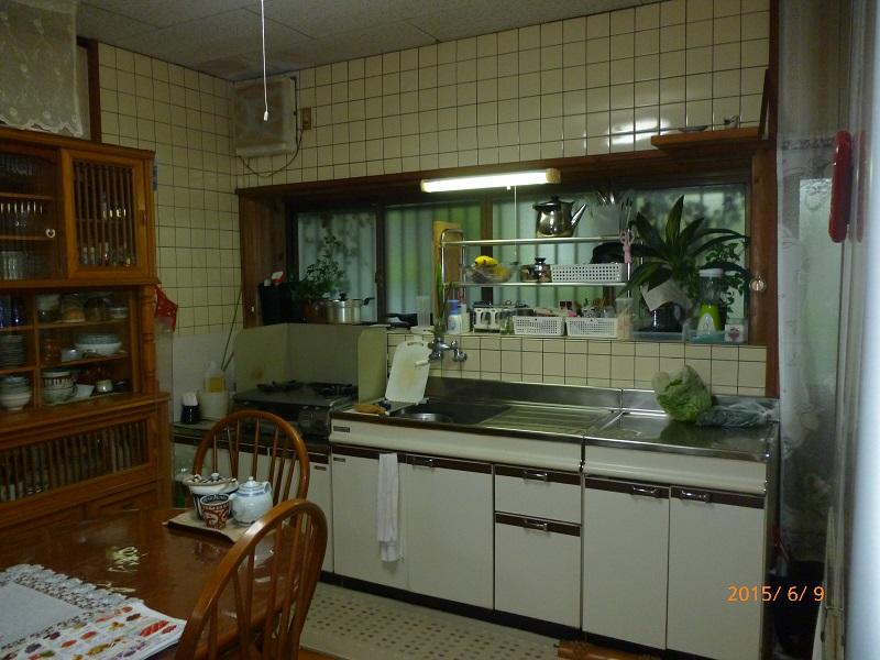 宮崎市K様邸-キッチン取り換え工事前