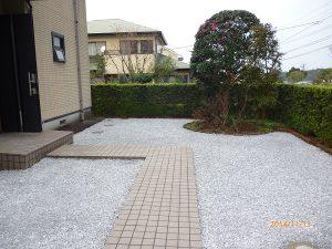 宮崎市Y様邸-外構工事後2