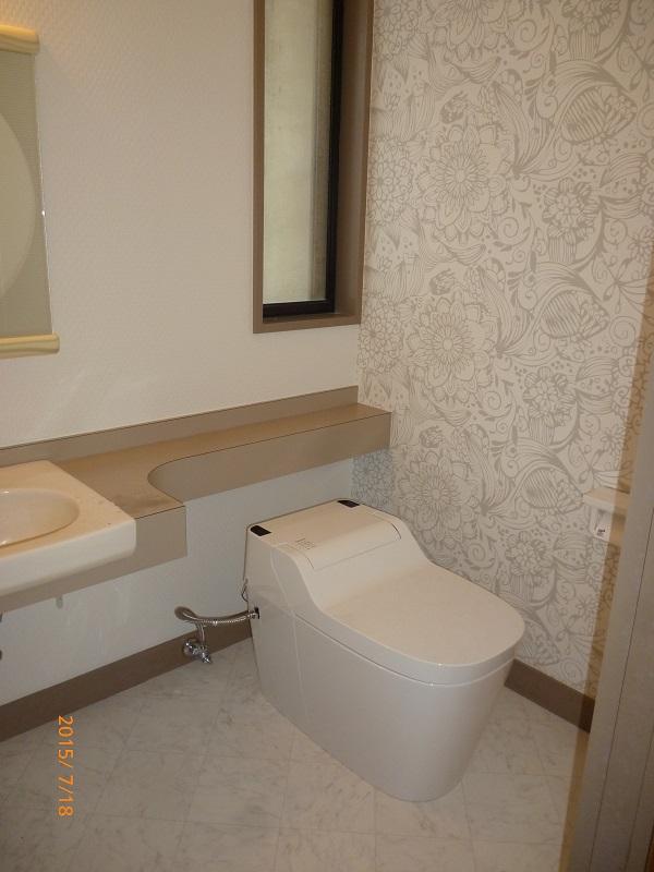 トイレ工事後