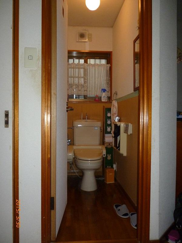 トイレ工事前