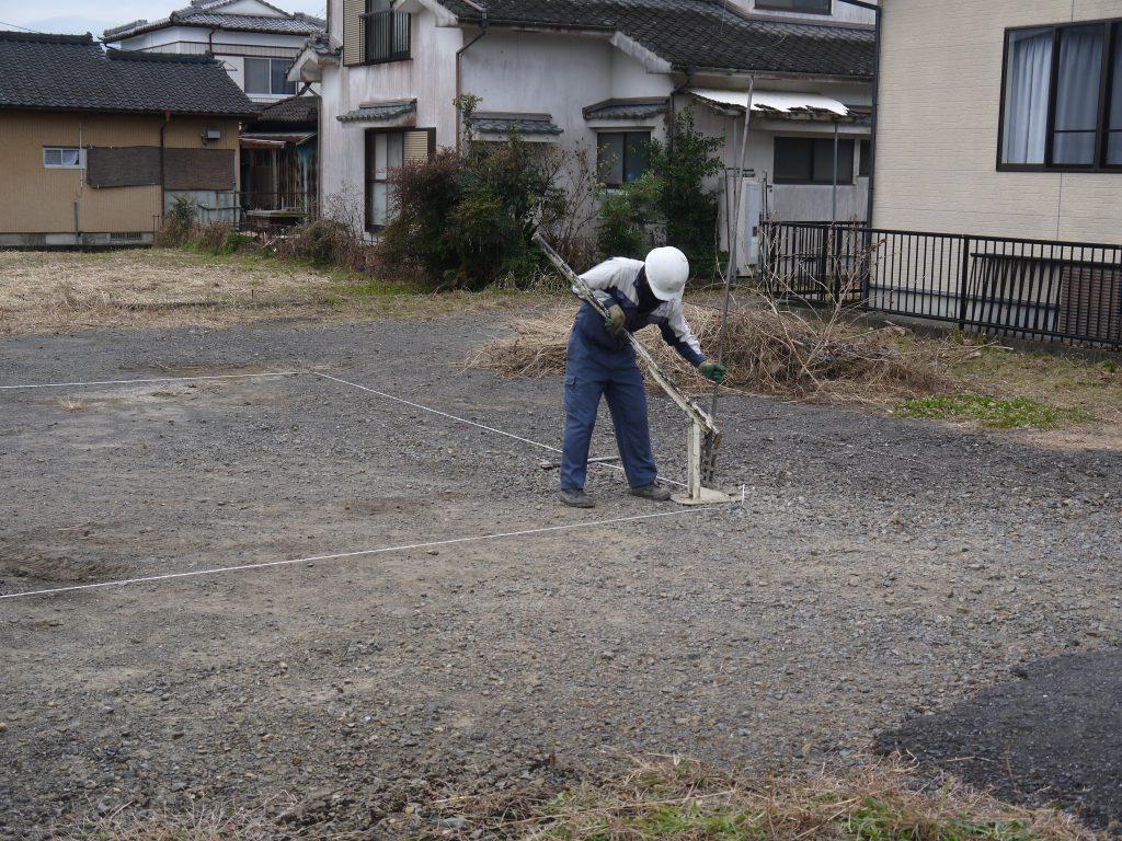 地盤調査②