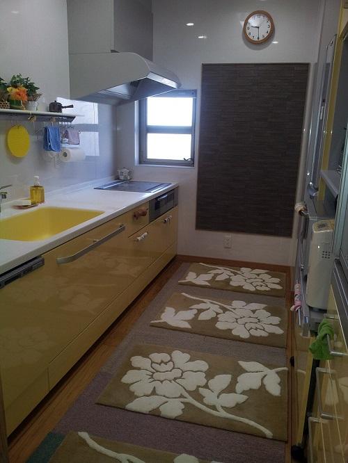 ①台所工事後