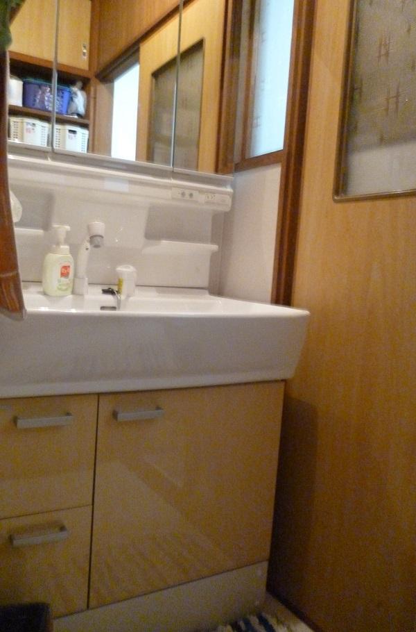洗面台工事後