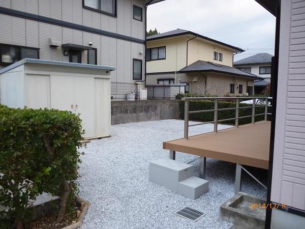 宮崎市Y様邸-外構工事後1